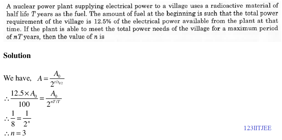 physics math chemistry solutions  jee adv 2015 paper 1 nuclear power plant problem png